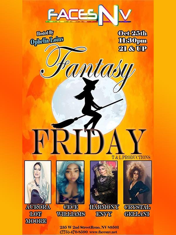 FacesNV Fantasy Friday Halloween