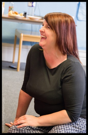 Theatre Orchard Drama Workshops course leader Angela Athay-Hunt