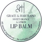 Sweet Orange and Lemon Lip Balm