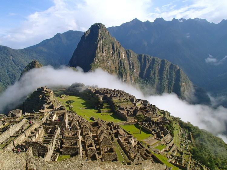 Inca trail in Peru