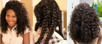 Easy Braid Out On Straight Natural Hair| ONYC Hair Fro Out