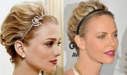 easy holiday hairstyles short