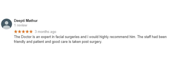 Google Review by Deepti Mathur