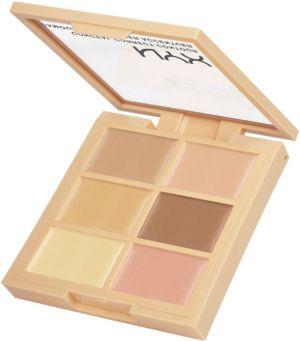 Nyx 3C Conceal, Correct, Contour Palettes