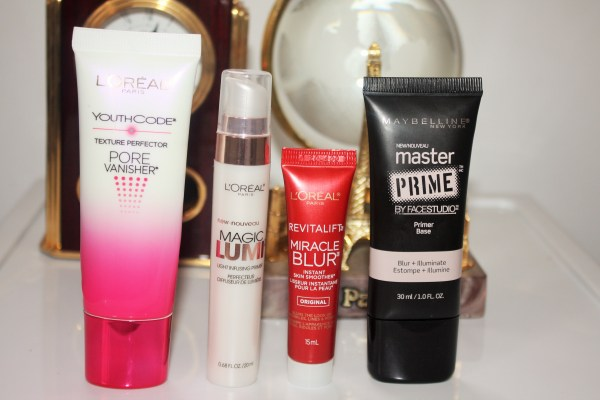 Drugstore Primers I Love-amazing drugstore primers-face primers-best primers