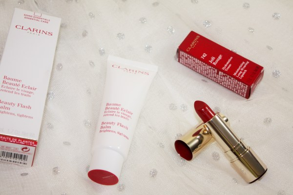 Clarins Joli Rouge Lipstick_ Clarins Beauty Flash Balm_new in from clarins006
