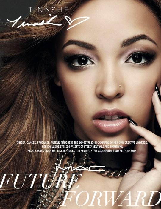 Tinashe Named Face Of MAC Cosmetics Future Forward Campaign