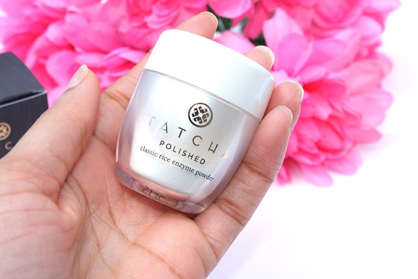 Tatcha Polished Classic Rice Enzyme Powder-review- exfoliators-skincare-003