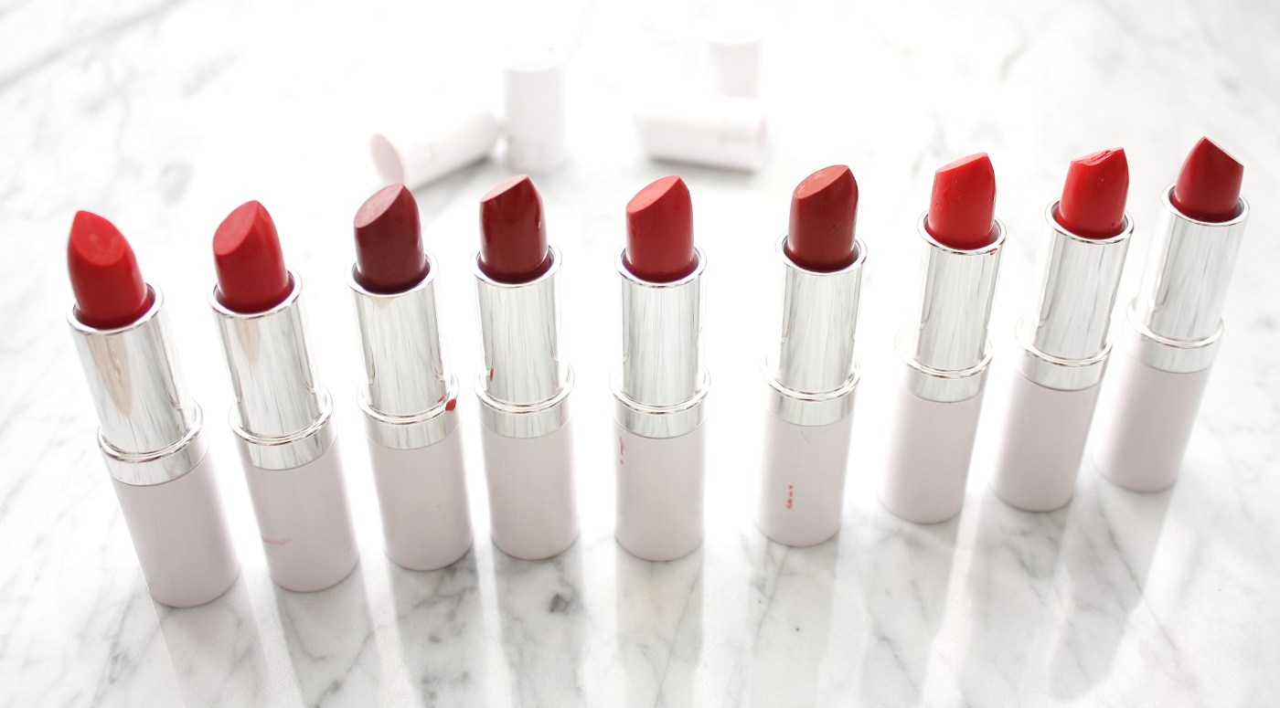 TŌN COSMETICS RED LIPSTICKS