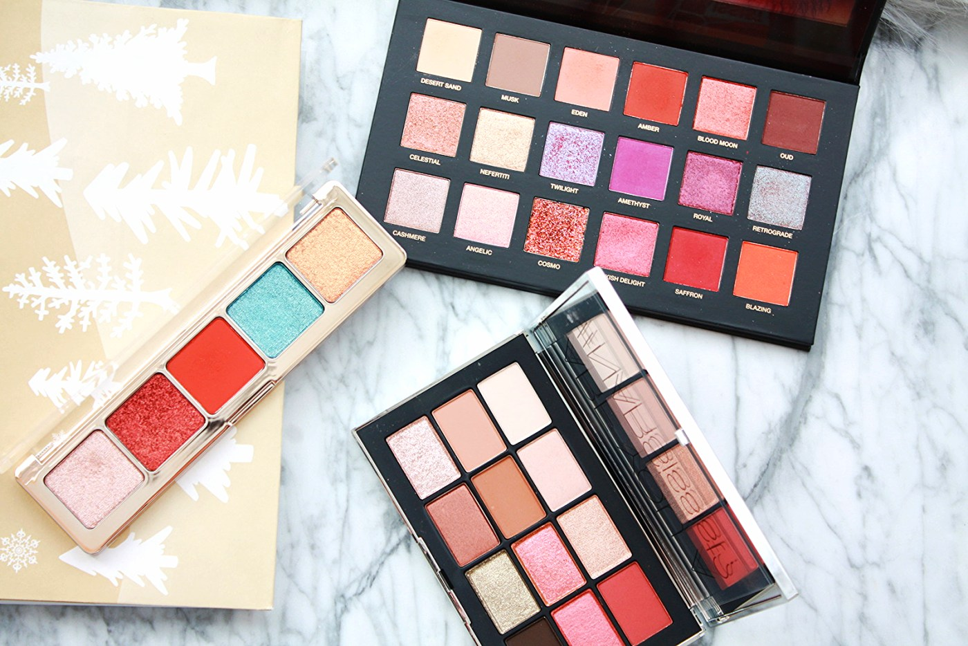 THE THREE EYESHADOW PALETTES I'M LOVING