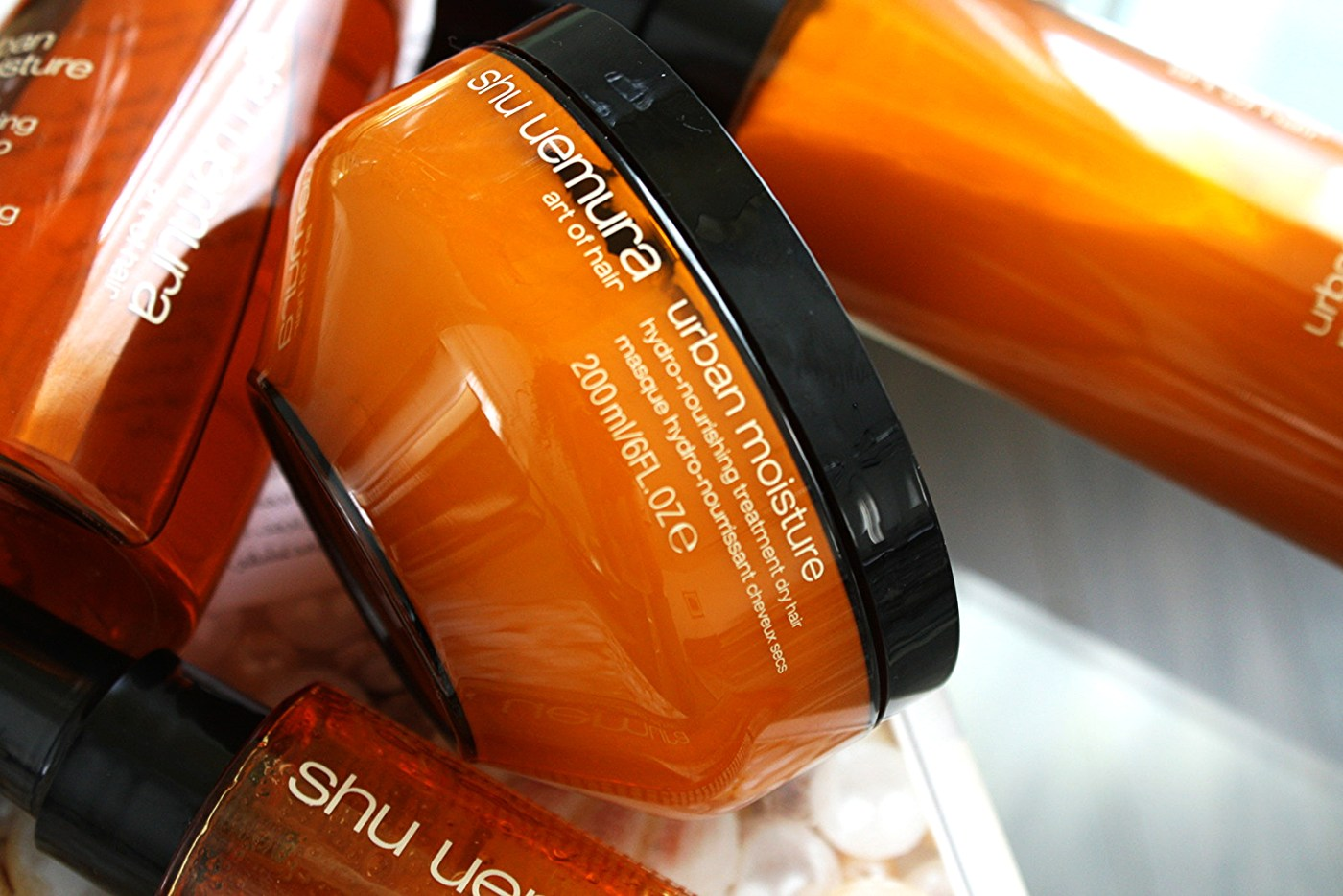 SHU UEMURA ART OF HAIR URBAN MOISTURE COLLECTION