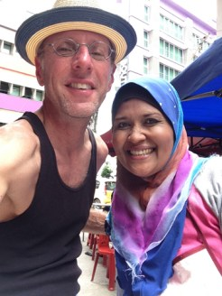 Lovely street food seller named Zahara. She was super gay-friendly for a Muslim.