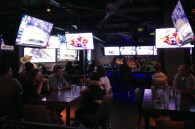 Sports bars. How many TVs do we need in 1 bar?