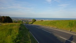 Road to Eastbourne from Brighton