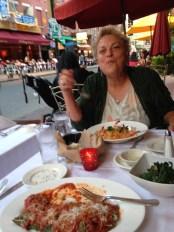 dinner in Little Italy