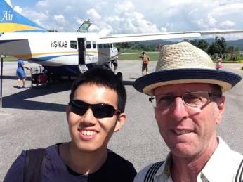 Kan Air arrival in Pai.
