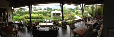 Panorama at Silhouette guest house.