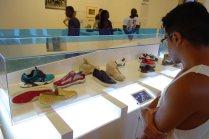 Sneaker exhibit at Brooklyn Museum