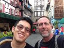 Bukit Tinggi - the fake French village. Very tacky and bad food. But high elevation and so cooler and cleaner air.