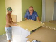 Building the cabinets