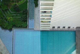Farewell 5th floor pool.