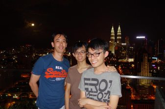 Goodbye to Ryan, Johnson and Melvin, the Malaysian Chinese — so wonderfully earnest.