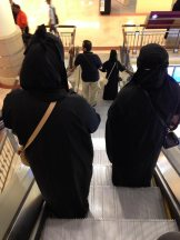 Goodbye to faceless women on escalators.
