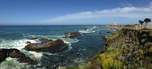 Point Arena, California (in Mendocino County)