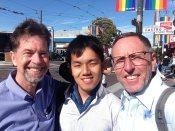 with Bill Fultz in the Castro.