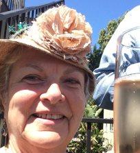 Jean in Kristel's hat