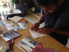 Chuan folding cranesat