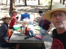 a picnic on Mt. Lemmon because the gays like a picnic according to Margaret Cho's mother.