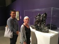 Chuan, Ida, and Rodin at the Tucson Museum of Art