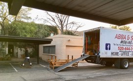 The greatest day of my Tucson life: my neighbor with the barking dogs FINALLY moves out!