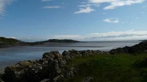 The stunning Galloway Coastline - Ardwall Island from Carrick