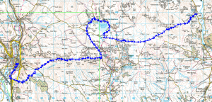 Ride from Settle to Kilnsey