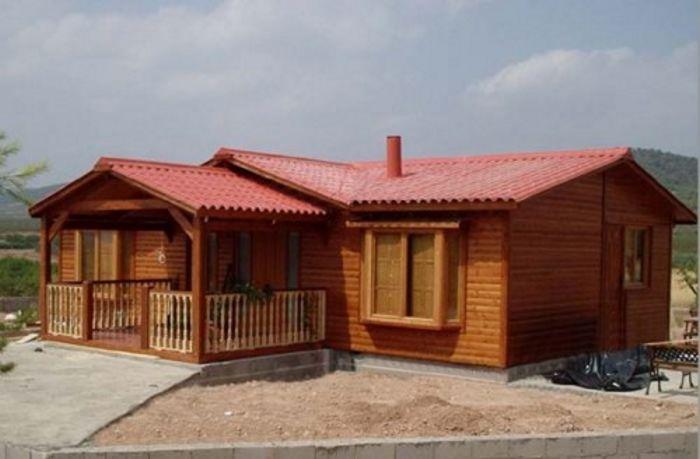 Ejemplos de fachadas de casas de madera y claves a tener