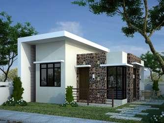 Fachadas de casas modernas pequeñas Todo Fachadas