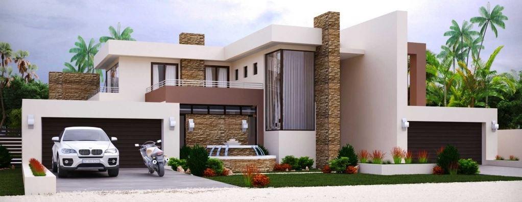 Modelo De Casa De Dos Pisos Con Terraza Novocom Top