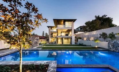casas modernas bonitas fachadas mundo piscina casa dos rumah plantas mas mansiones moderna lantai mewah fachada street kolam renang keane