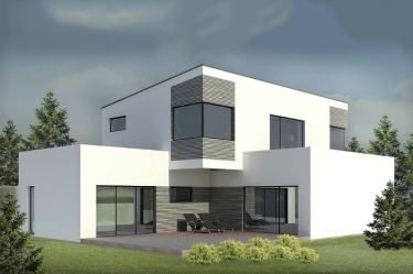 fachada casas minimalista casa piedra pisos gris blanco exterior dos modernas como negocio planta apreciamos tanto contra