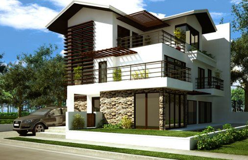 Fachadas de Casas Modernas – Page 2 – Ideas de fachadas, planos