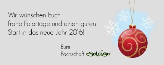 Frohe Weihnachten und einen guten Start in das neue Jahr 2016_Fachschaft