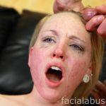 Facial Abuse Caroline Cross