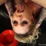 Facial Abuse Maia Davis