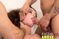 Facial Abuse Pancake Tits