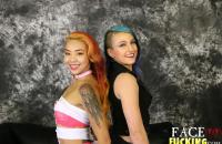 Face Fucking Kimberly Chi & Orion Starr