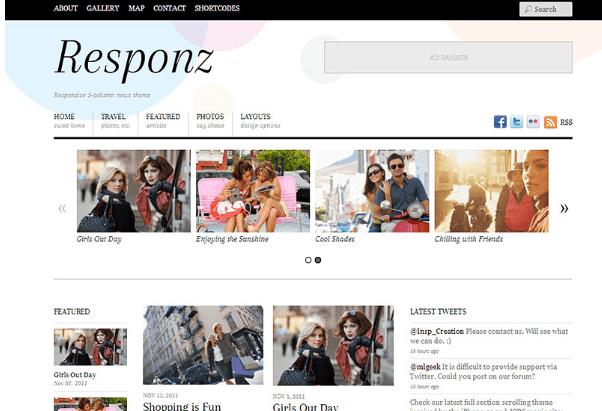 12 Best Responsive WordPress Themes (2019) 11