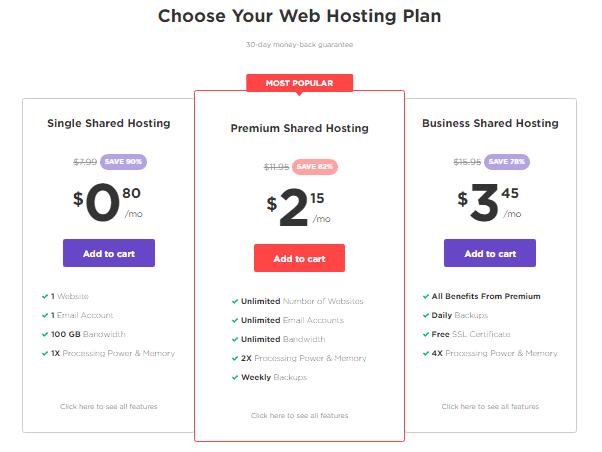 Hostinger web hosting plans Best cheap web hosts
