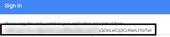 Search console verification